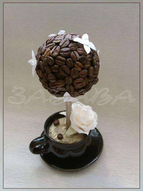 Рукоделия с кофейными зернами